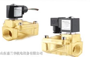 SLP二位二通大口径先导式膜片电磁阀常闭型